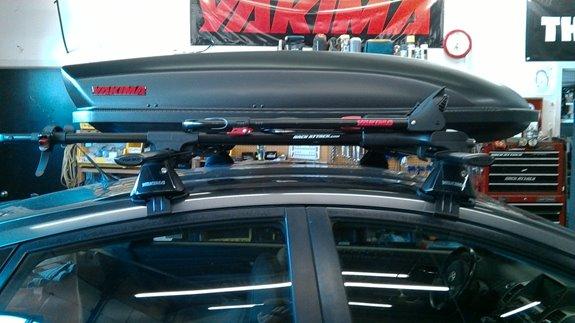 Toyota Prius Rack Installation Photos