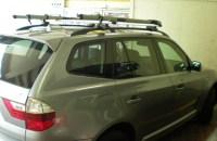 2011 Bmw x3 roof rack cross bars