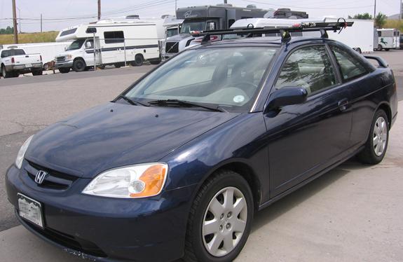 Roof Rack Honda - Lovequilts