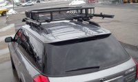 Subaru Outback Wagon Rack Installation Photos