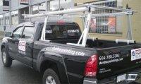 Toyota Tacoma std. Cab Rack Installation Photos