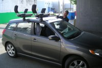 Toyota Matrix Roof Rack Guide & Photo Gallery