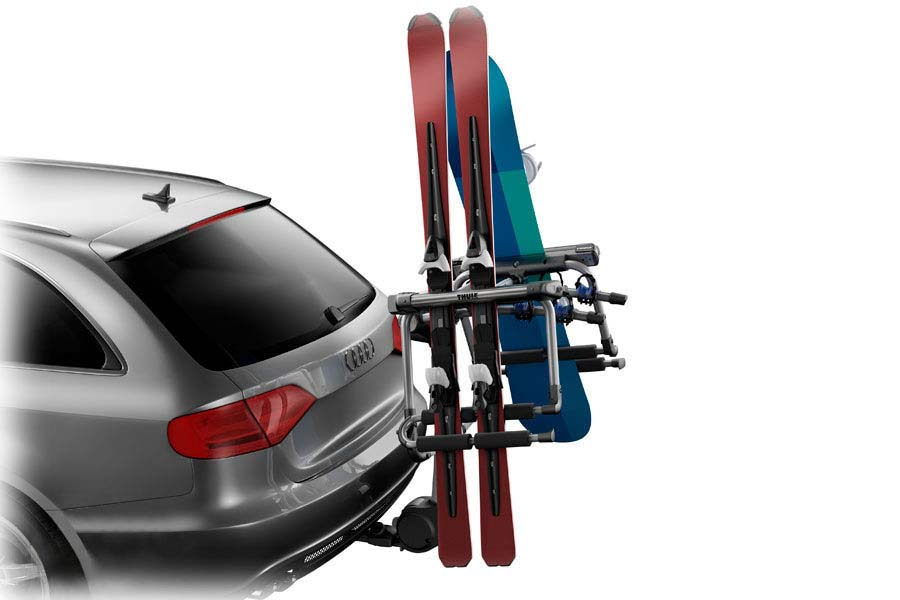 Thule 9033 Tram Hitch Ski Carrier With Locks Thule Ski