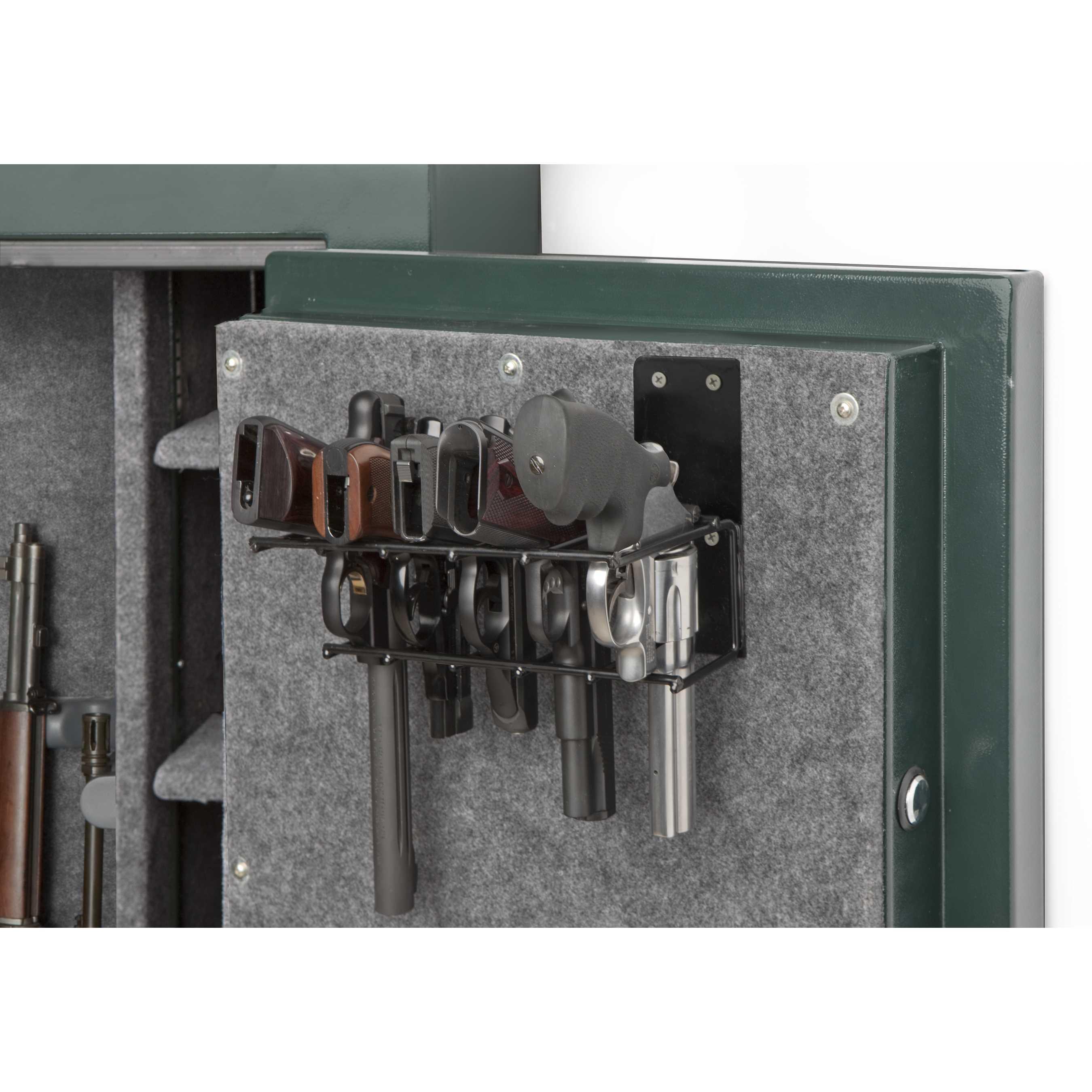 5 Pistol Gun Cabinet Holster (SKU: 6024)  RACK'EM RACKS