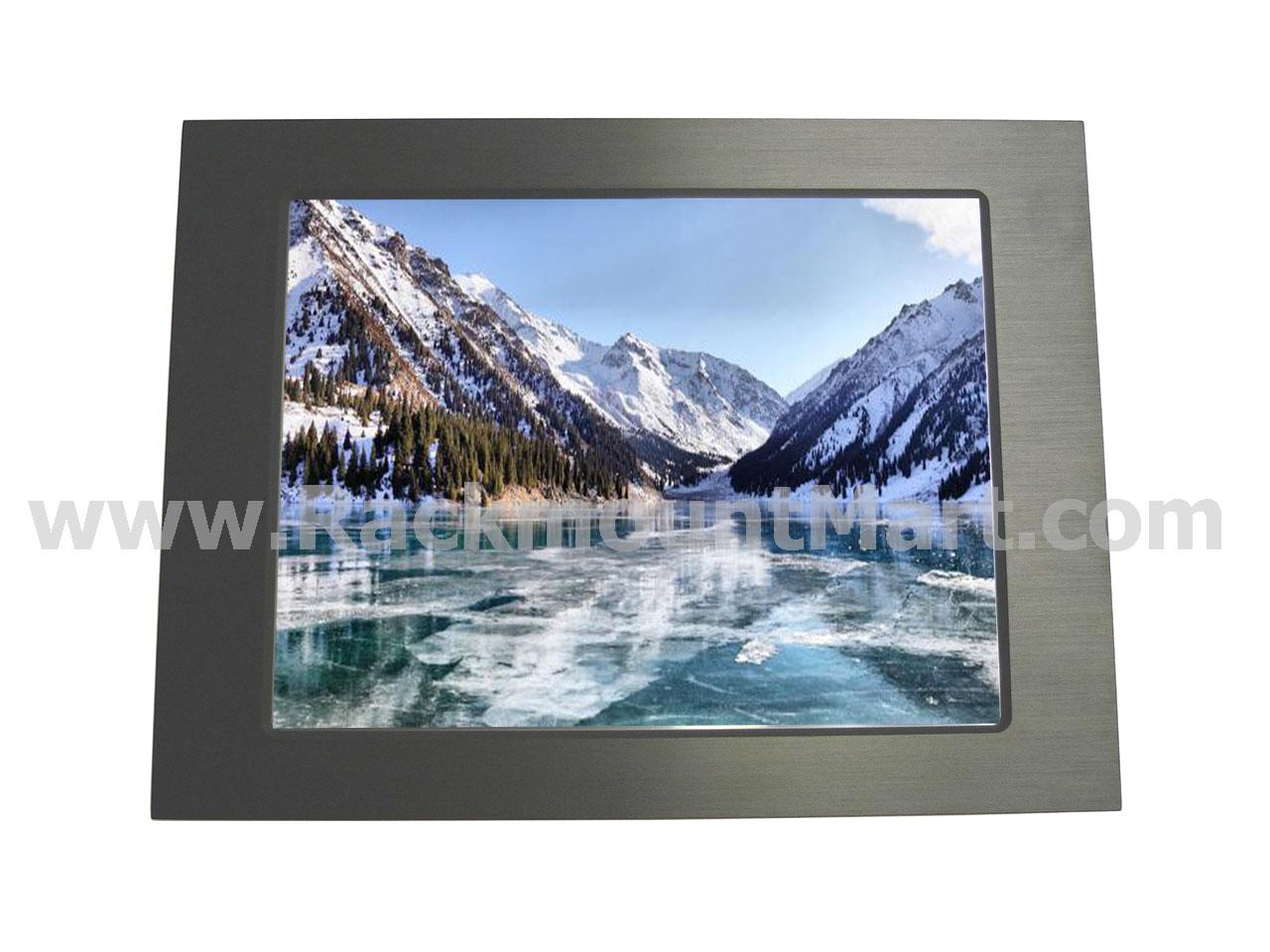 Id 3 15a Aluminum Front Bezel 15 Industrial Panel Mount