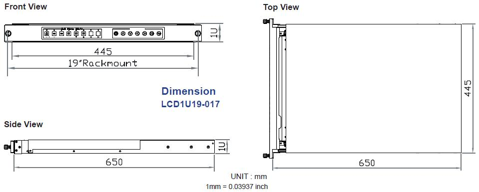 Lcd1u19 017 1u 19quot Samsung Widescreen Lcd Rack Drawer With