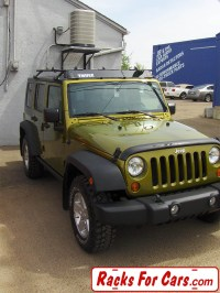 Jeep Wrangler JK Roof Racks and Spare Tire Bike Racks ...