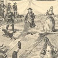 Le lancer de renard, sport à la mode au XVIIe siècle