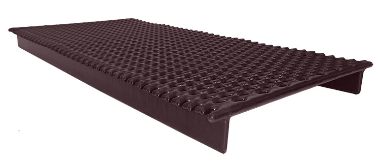 Tub Floor Grates For Veterinary Use Poly Vinyl Coated Steel