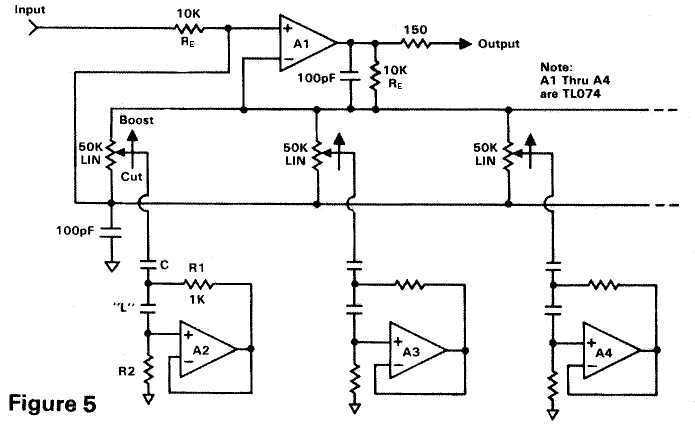 band spectrum analyzer circuit using op amps scorpionz