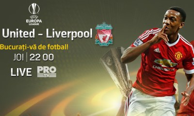 Manchester United– Liverpool PRO TV