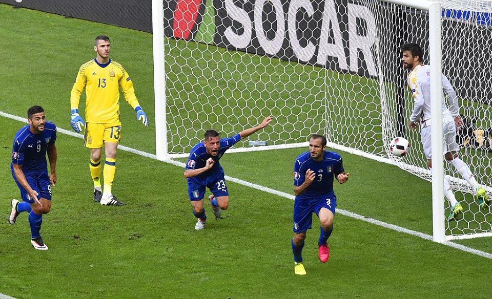 Italia - Spania (sursa foto Nazionale Italiana di Calcio)