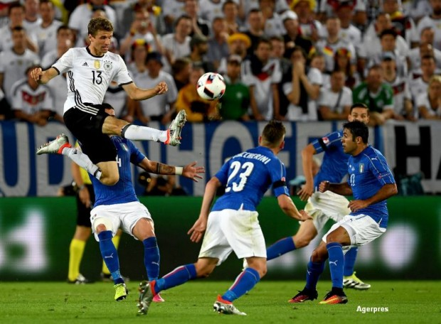 Germania - Italia (sursa foto Agerpres)