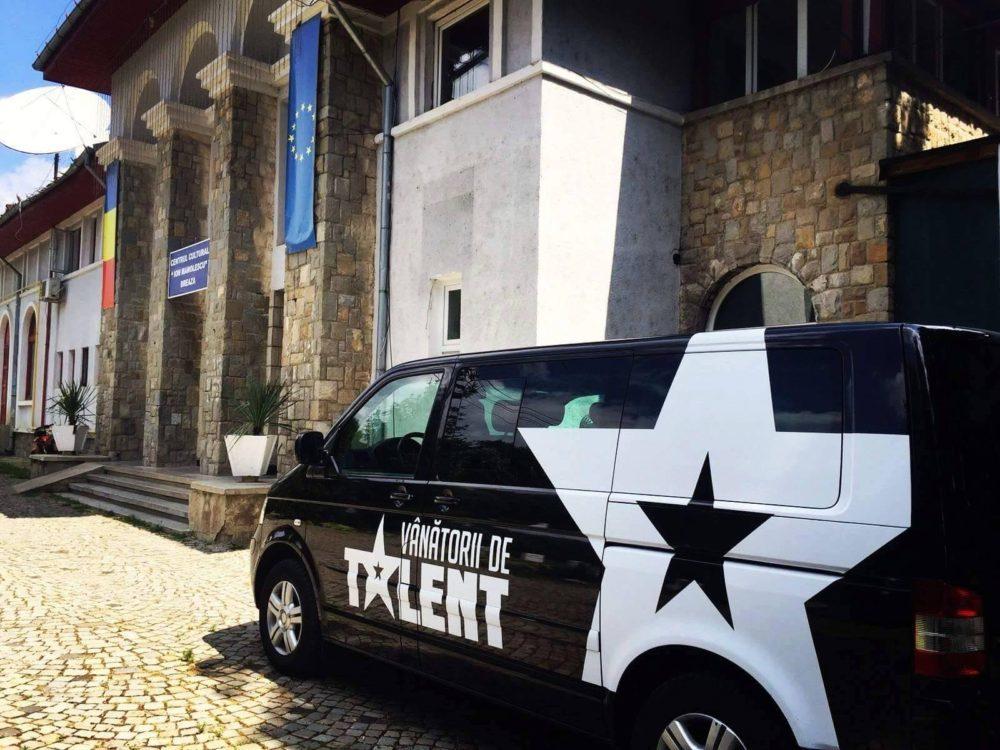 Caravana Vanatorii de talent PRO TV