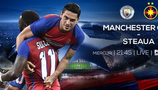 Manchester City - Steaua