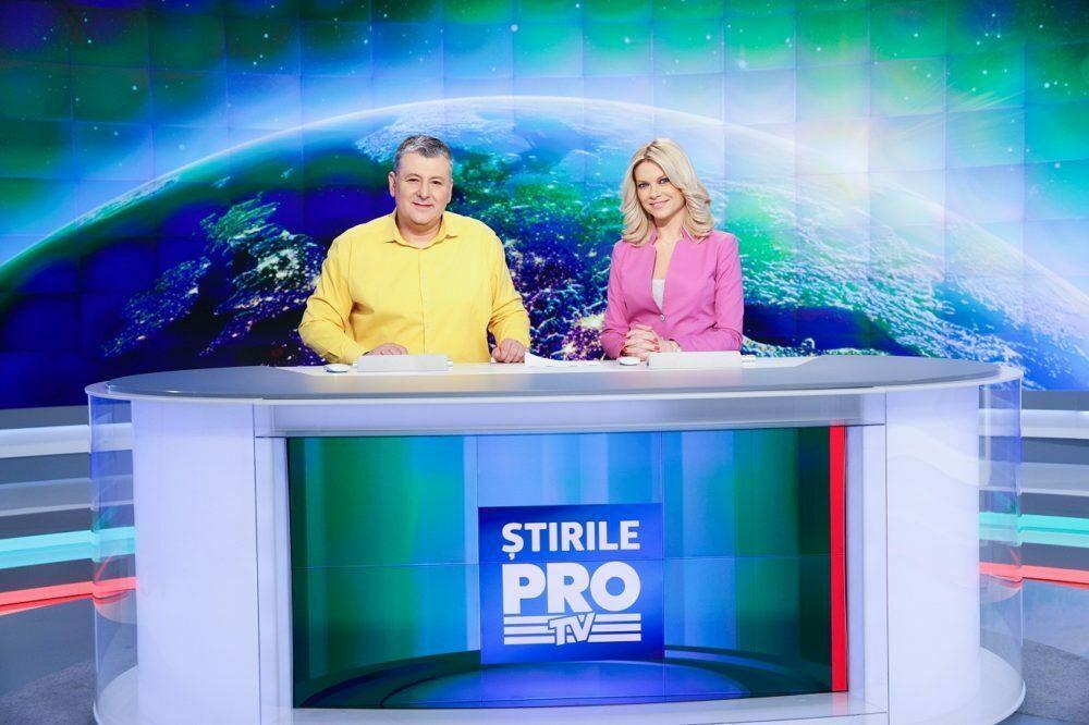 Modificare in grila PRO TV privind STIRILE PRO TV