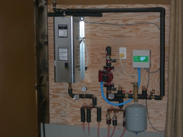 Electric Geothermal And Wood Boilers Diy Radiant
