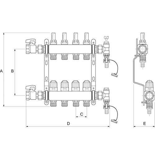 WIRING DIAGRAM FOR UNDERFLOOR HEATING MANIFOLD - Auto Electrical