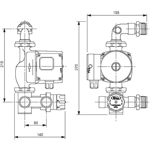 ufh pump wiring