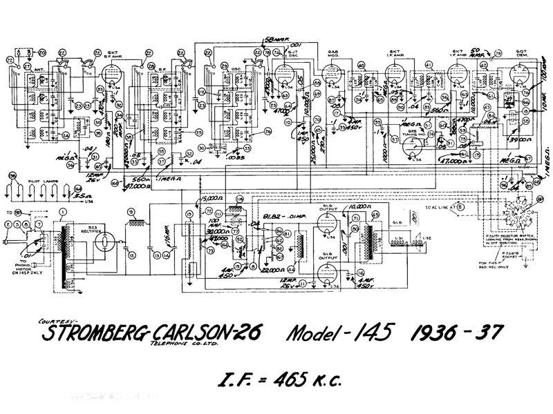 stromberg carlson telephone Schaltplang