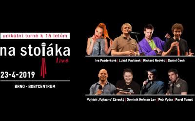 Unikátní turné k výročí 15. let Na Stojáka zavítalo do Brna