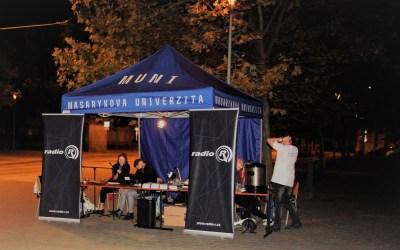 Buďme s naší planetou zajedno, hlásala Masarykova univerzita na Noci vědců