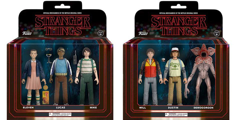 Le incredibili action figures di Stranger Things