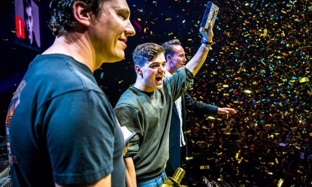 Martin Garrix la decernarea premiilor Top 100 DJ Mag