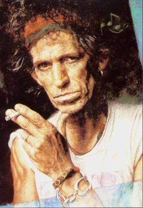 keithrichards YIKES: Donatella Versace... or Keith Richards?