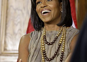 Michelle Obama - Los Angeles Times