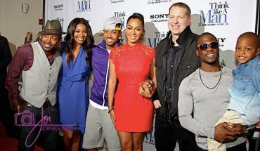 WillPacker GabrielleUnion TerrenceJ LalaAnthony GaryOwen KevinHartandson 11 THINK LIKE A MAN CAST SHINES AT ALL STAR WEEKEND