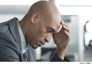 depressed black man getty590 300x207 The Biggest Radio Facts Stories of 2012
