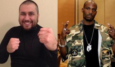 DMXandGeorgeZimmerman George Zimmerman fight with DMX Speaks Volumes about the value of a Black Mans Life