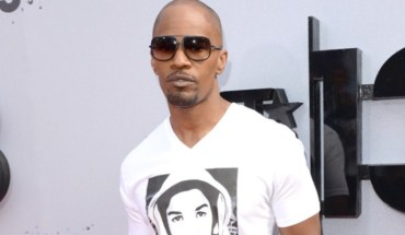 Jamie Foxx Jamie Foxx Speaks at Trayvon Martin Peace Rally