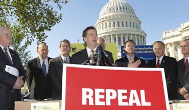 gop repeal Things There are Fewer of Than GOP Repeal Votes