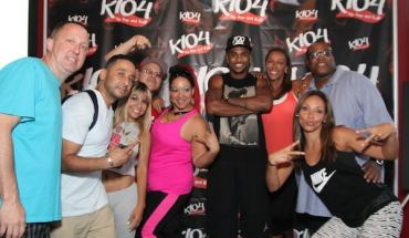 IMG 3382 Trey Songz Works Out with K104 Listeners