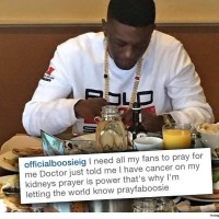Rapper Lil Boosie Asks Fans for Prayer after Cancer Diagnosis