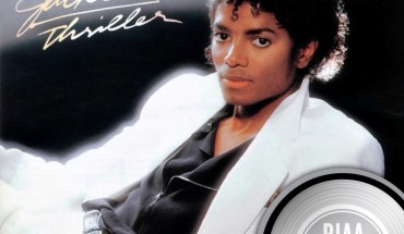 Michael Jackson's THRILLER is the first album in RIAA Gold & Platinum Program history to be certified 30X Multi-Platinum for U.S. sales (PRNewsFoto/Legacy Recordings)
