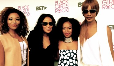 BLACK GIRLS ROCK! Africa at BET EXPERIENCE AFRICA - L-R: Bonang Mabetha, Beverly Bond, Nomzamo Mbatha, and Millen Magese. (PRNewsFoto/BLACK GIRLS ROCK!)