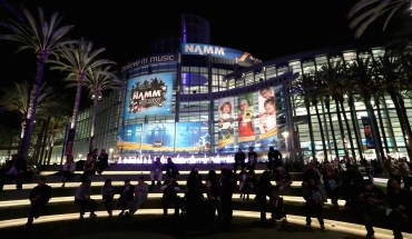 ANAHEIM, CA - JANUARY 22:  A general view of atmosphere at the 2015 National Association of Music Merchants show at the Anaheim Convention Center on January 22, 2015 in Anaheim, California.  (Photo by Jesse Grant/Getty Images for NAMM)