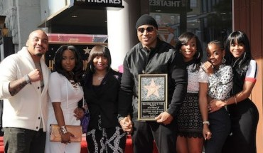 Walk of Fame honors LL Cool J with a star  Pictured: LL Cool J Ref: SPL1211874  210116   Picture by: Digital Focus / Splash News  Splash News and Pictures Los Angeles:	310-821-2666 New York:	212-619-2666 London:	870-934-2666 photodesk@splashnews.com