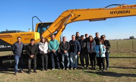 Nuevas maquinarias para el Comité de Cuencas Arroyo Totoras