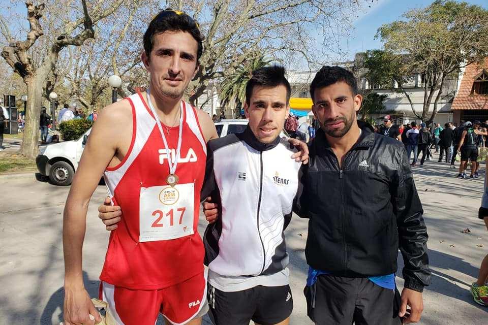 Con gran convocatoria se corrió el 16º Maratón Delfo Cabrera en Armstrong
