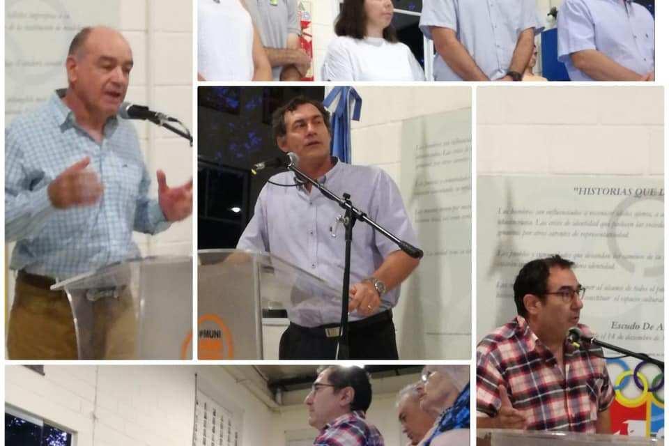 Emotivo Homenaje a los cinco Cooperativistas armstronenses