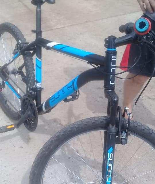 Recuperó por sus propios medios en Las Parejas la Bici robada en Cañada de Gómez