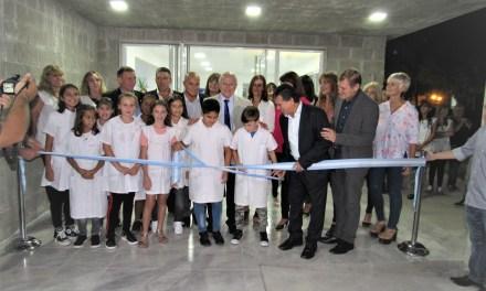 """Inauguraron el Gimnasio """"Juan Astegiano"""" de la Escuela 648"""