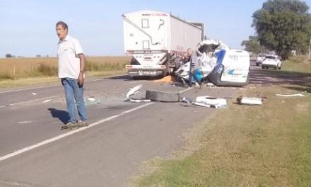 Accidente fatal en ruta 9 pasando el polideportivo de Cooperativa Mixta