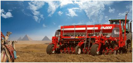 La primera sembradora made in Argentina que se exporta a Egipto es de Las Parejas