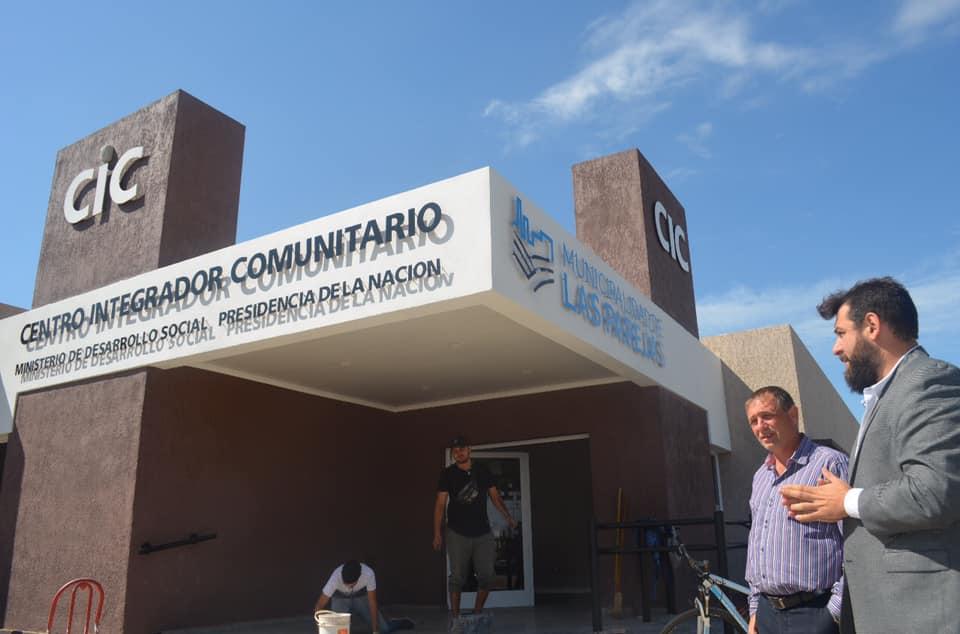 Etapa final de obra para la inauguración del Centro Integral Comunitario