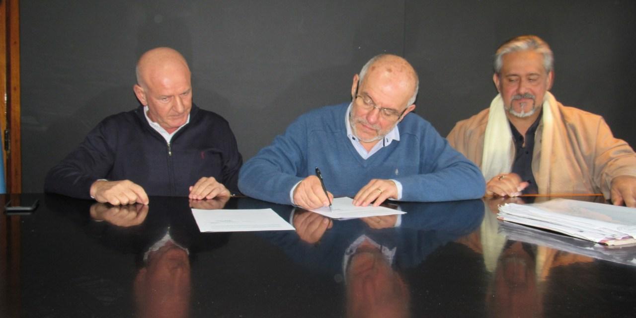 Argentino y su Mutual firmaron un convenio de reciprocidad